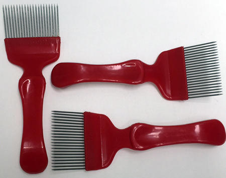 Uncapping Fork / Comb Scratcher